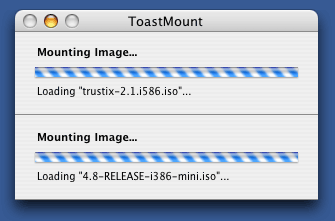 ToastMount Screenshot